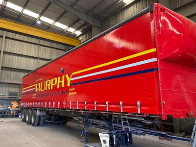 murphy custom made truck curtains